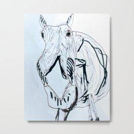 Have a Happy Horsey Metal Print