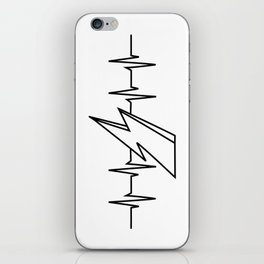 Bowie Heartbeat iPhone Skin