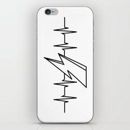 Bowie Heartbeat iPhone Skin