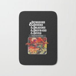 dungeons and dragons Bath Mat