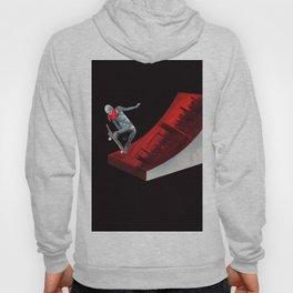 Red skate Hoody