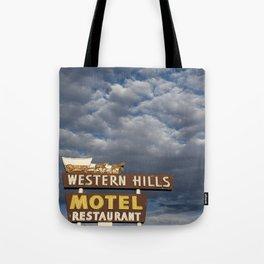 Western Hills Tote Bag