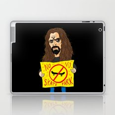 Zombie VS Skatepark Laptop & iPad Skin