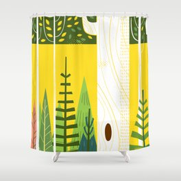 Joyful Trees Shower Curtain