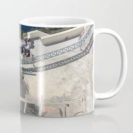 Santorini Balcony Coffee Mug