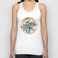 transformer Tank Tops featuring Transformer by Dave Houldershaw