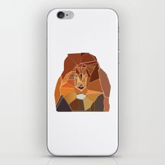 Crystal Lion iPhone & iPod Skin
