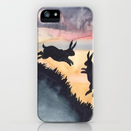 Sunset Leap iPhone Case