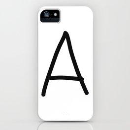 A LOVE iPhone Case