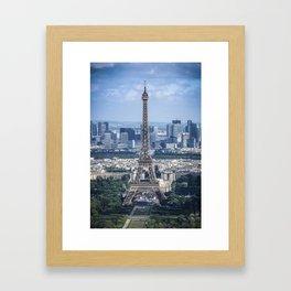 The Iconic Eiffel Framed Art Print