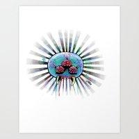 metroid Art Prints featuring Metroid  by Jauma