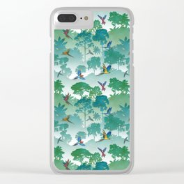 Macaw Canopy Clear iPhone Case