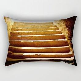 Steps to tomb Rectangular Pillow