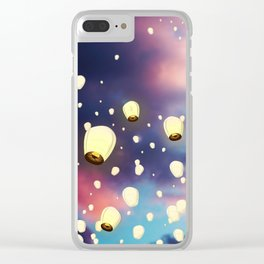 The Soul's Journey Clear iPhone Case