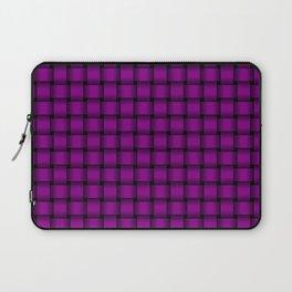 Small Purple Violet Weave Laptop Sleeve