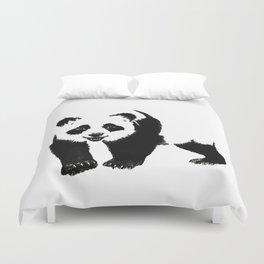 Happy Panda Duvet Cover