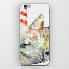 Rhino's Party iPhone Skin