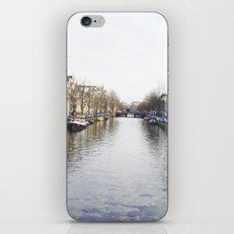 Winter in Amsterdam iPhone Skin