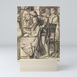 Dante Gabriel Rossetti (1828-1882), A Parable of Love - 1849 Mini Art Print