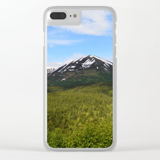 Summer Greens II Clear iPhone Case