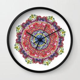 Wheel of Knowledge Wall Clock