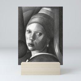 The Girl with the Pearl Earring Mini Art Print