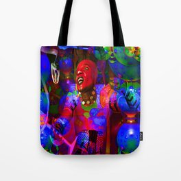 African Knight Tote Bag