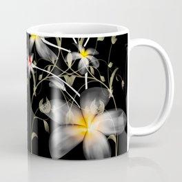 Frangipani floral abstract Coffee Mug