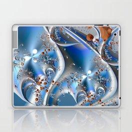 Postal service - An abstract fractal illustration Laptop & iPad Skin