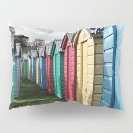 Beach Huts 01A Pillow Sham