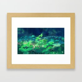 clovers Framed Art Print