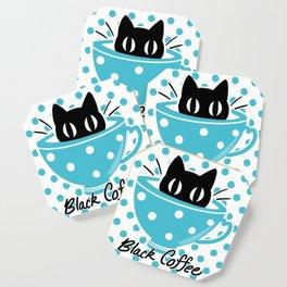 Black Coffee Coaster