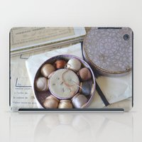 sewing iPad Cases featuring Vintage Sewing by KarenHarveyCox