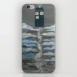 Doctor Who Magical Staircase iPhone Skin