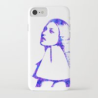 kate moss iPhone & iPod Cases featuring Kate Moss by fashionistheonlycure