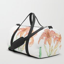 Hemerocallis (Day Lily) Duffle Bag