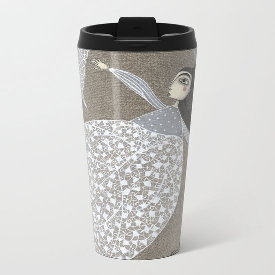 Summer's End Metal Travel Mug