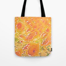 Sunflowers Summer Botanical Tote Bag