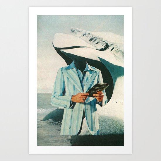 crisp, cool sophistication Art Print
