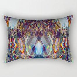 CMYK Warp pt.1 Rectangular Pillow