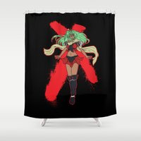 android Shower Curtains featuring The Android by CaptainSunshine