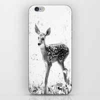 fawn iPhone & iPod Skins featuring fawn by 2sweet4words Designs