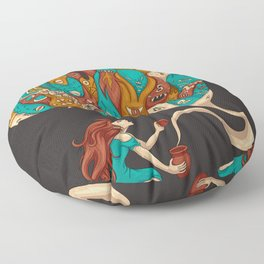 Pandora's Box Floor Pillow