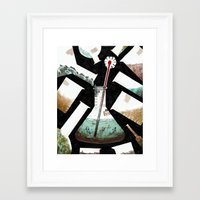 science Framed Art Prints featuring Science! by Joe Lillington