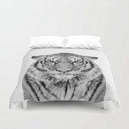 African Tiger Duvet Cover