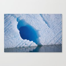 Blue Tunnel Canvas Print