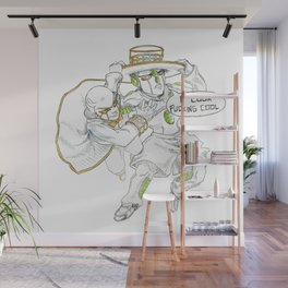 Small Ones Wall Mural