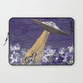 Abduction of the Delighted Lamb Laptop Sleeve