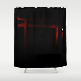 Finding Game (Kyoto, Japan) Inari Shower Curtain
