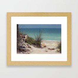 Path to Paradise Framed Art Print